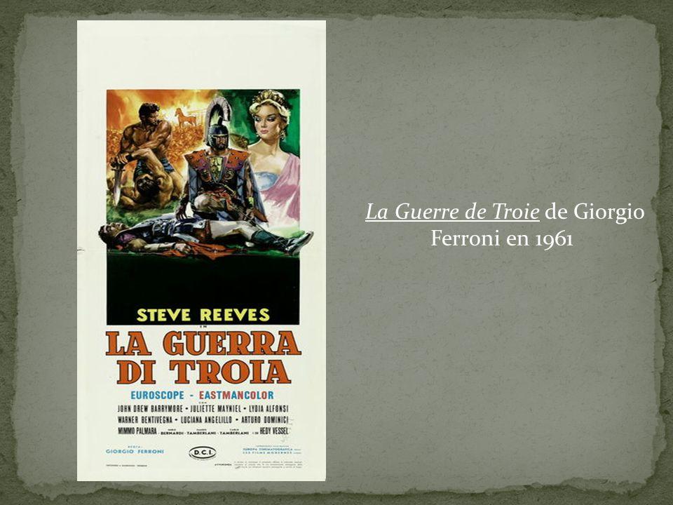 La Guerre de Troie de Giorgio Ferroni en 1961