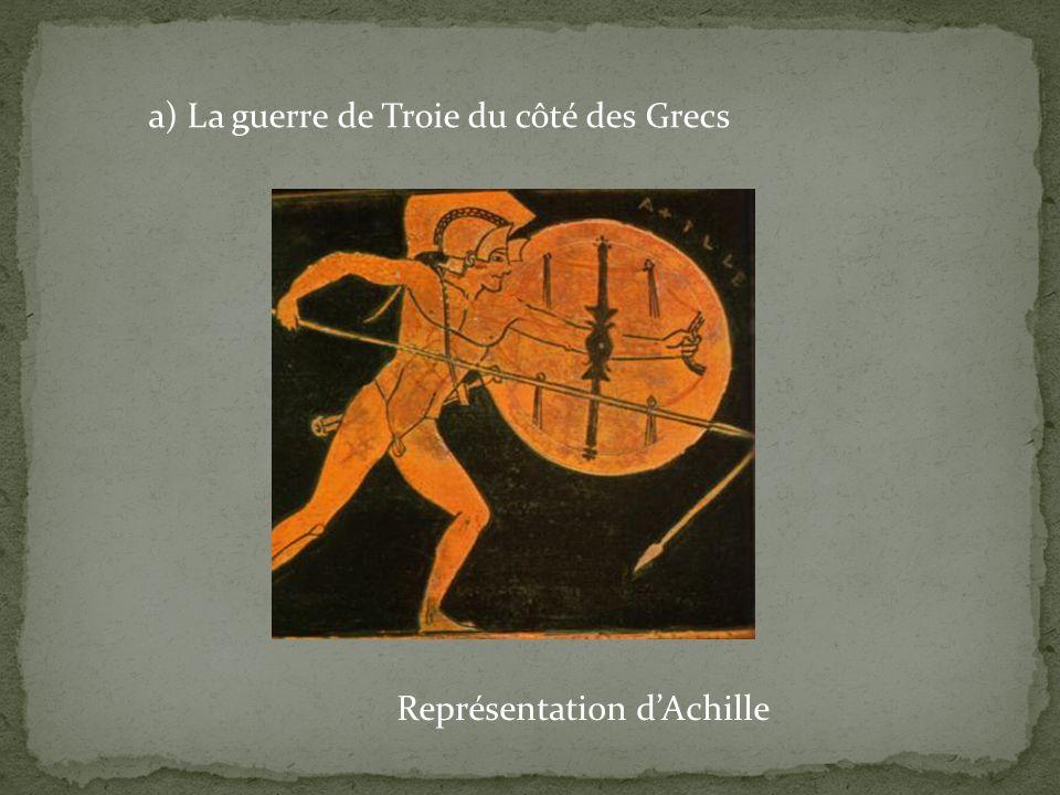 Représentation d'Achille