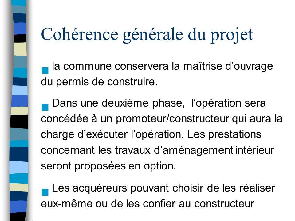 Cohérence générale du projet