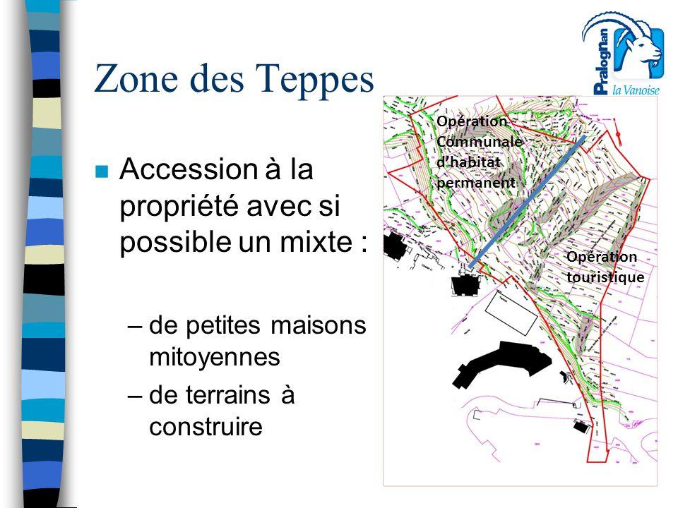 Zone des Teppes Accession à la propriété avec si possible un mixte :