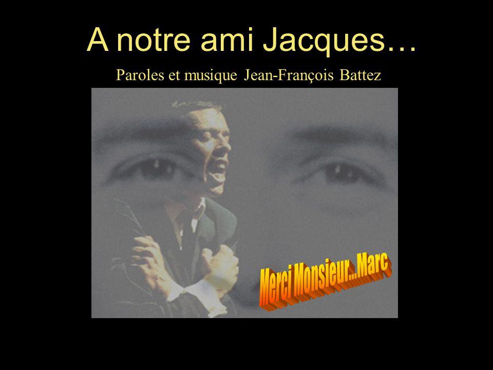 Paroles et musique Jean-François Battez