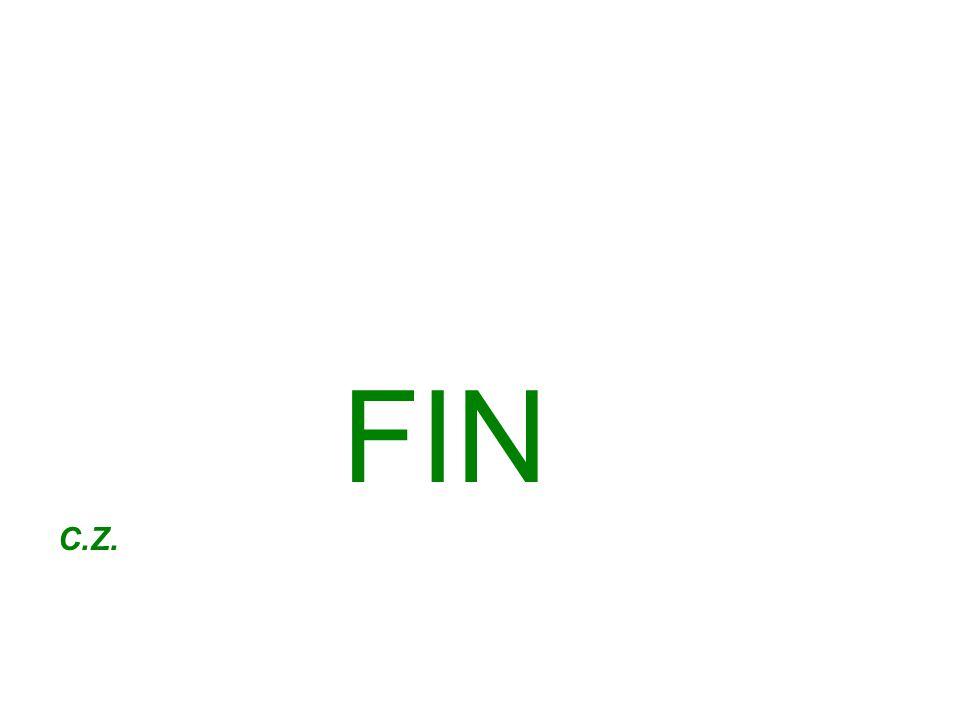 FIN C.Z.