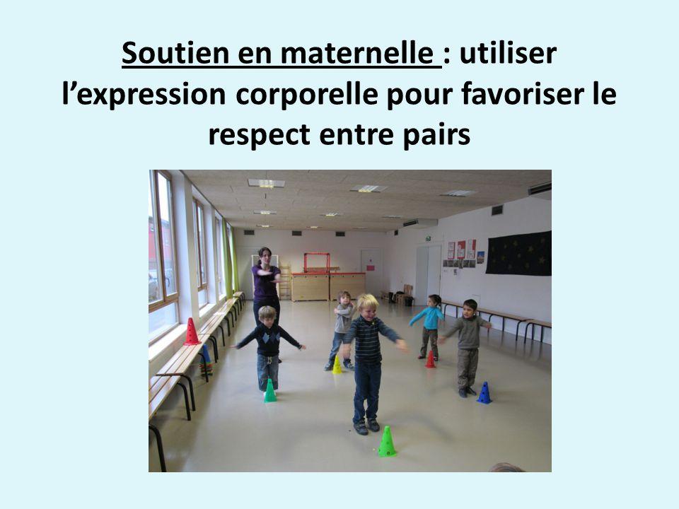 Soutien en maternelle : utiliser l'expression corporelle pour favoriser le respect entre pairs