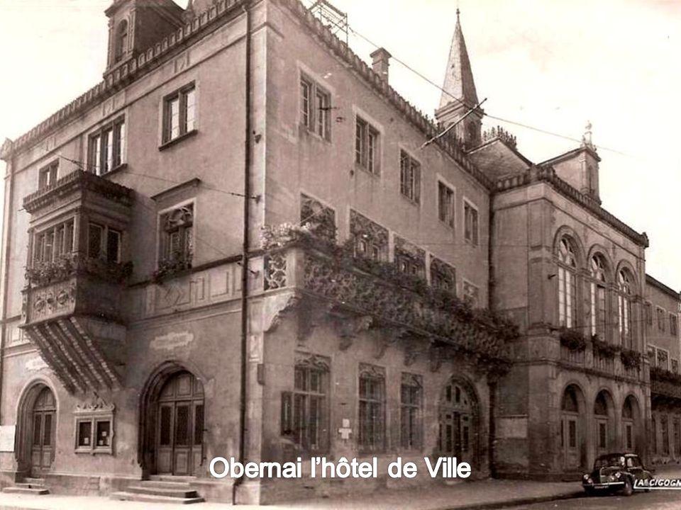 Obernai l'hôtel de Ville