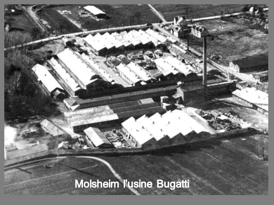 Molsheim l'usine Bugatti