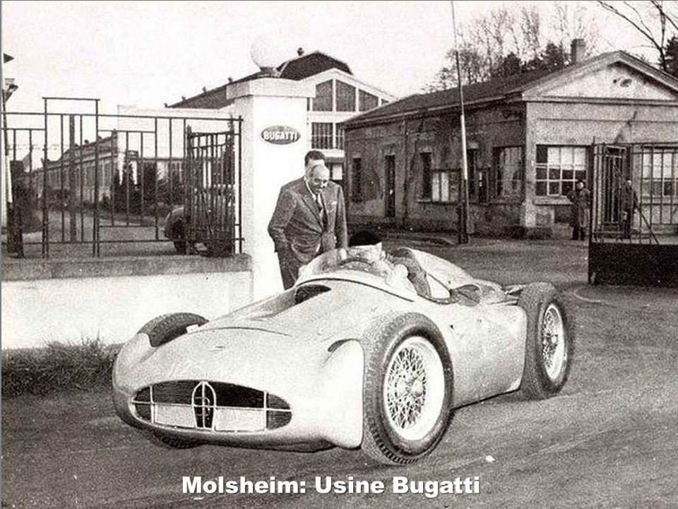Molsheim: Usine Bugatti