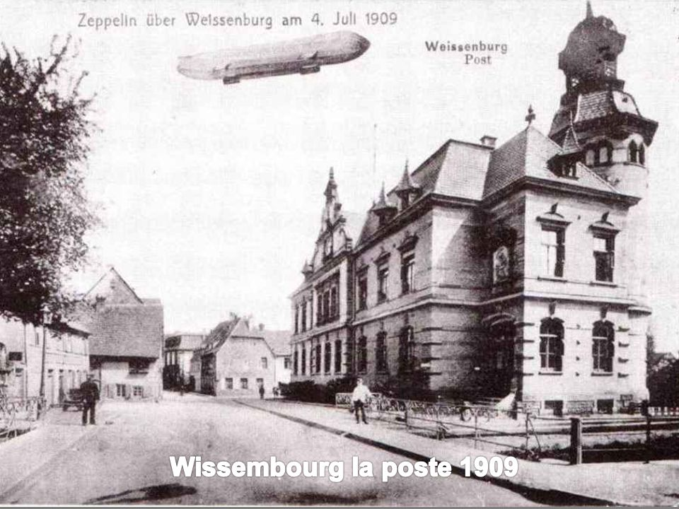 Wissembourg la poste 1909