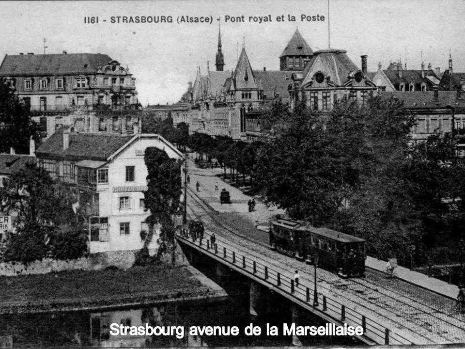 Strasbourg avenue de la Marseillaise