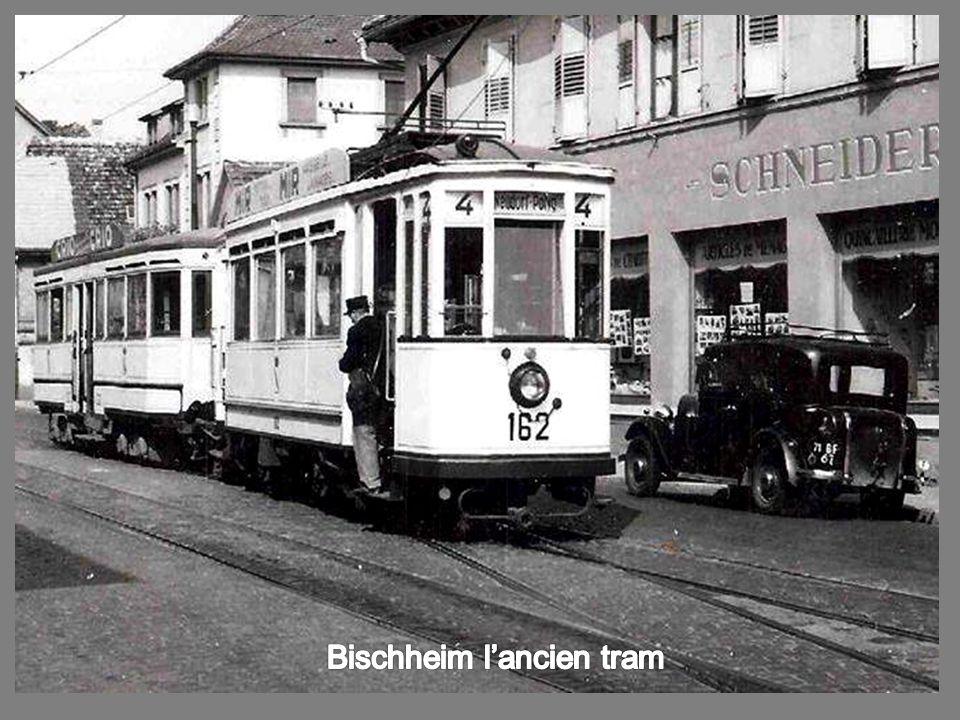 Bischheim l'ancien tram