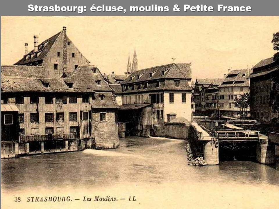 Strasbourg: écluse, moulins & Petite France