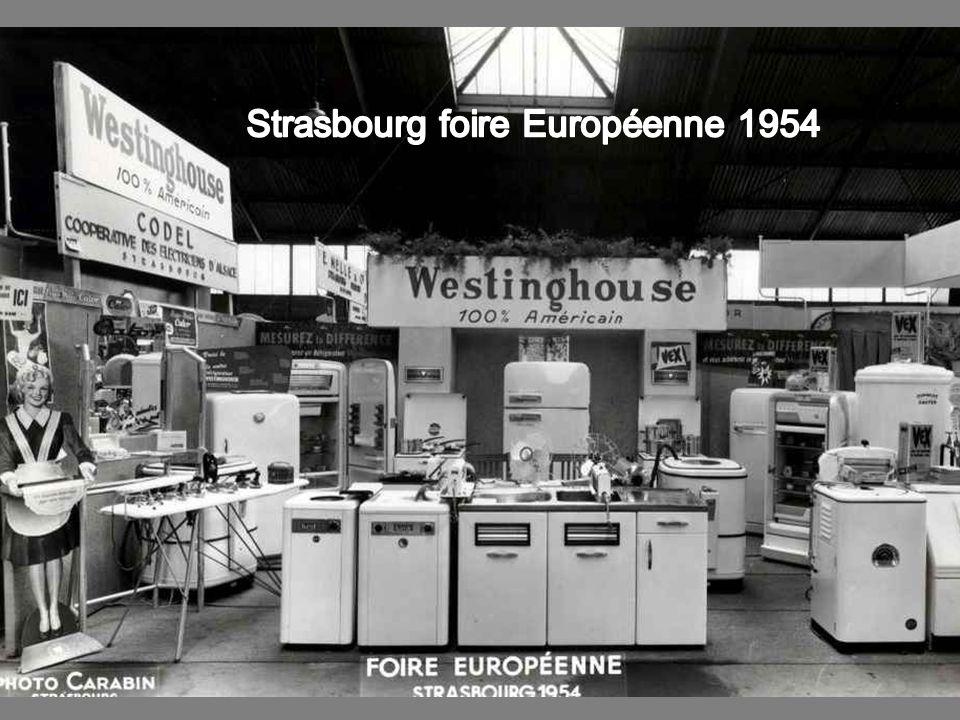 Strasbourg foire Européenne 1954