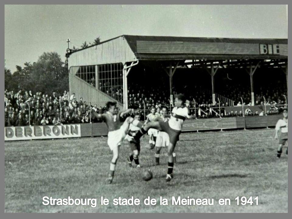 Strasbourg le stade de la Meineau en 1941