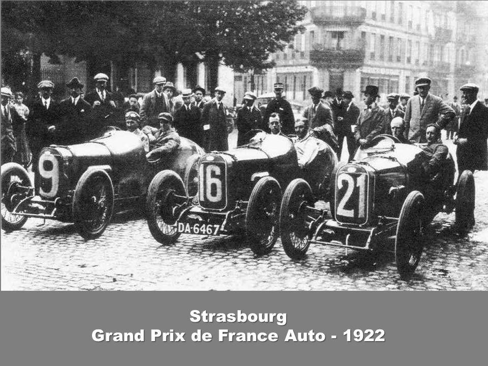 Grand Prix de France Auto - 1922
