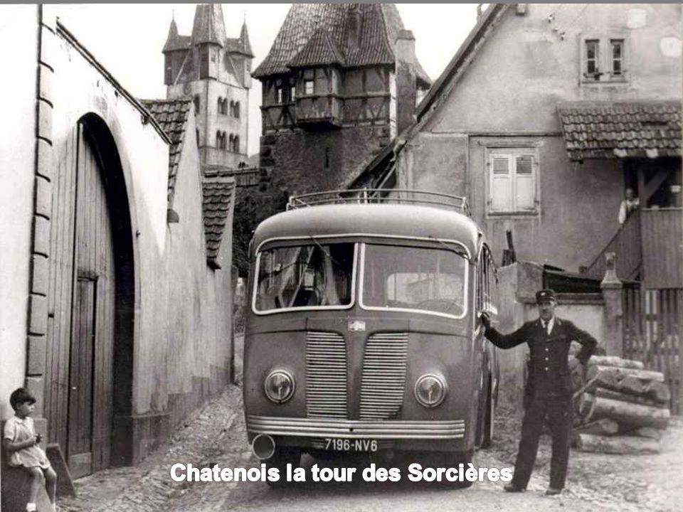 Chatenois la tour des Sorcières