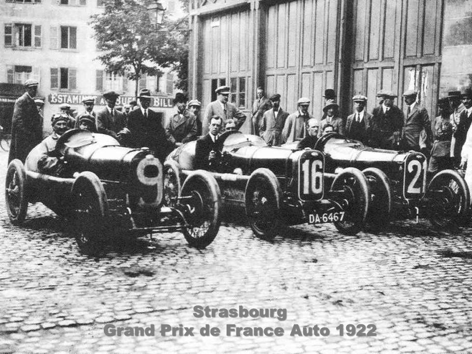 Grand Prix de France Auto 1922