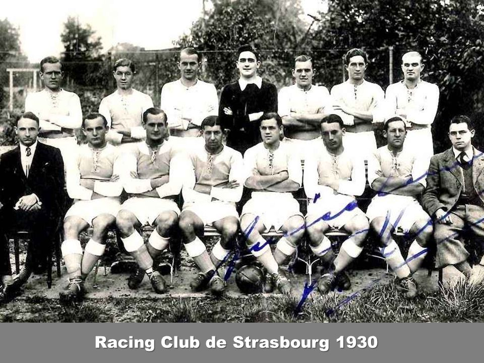 Racing Club de Strasbourg 1930