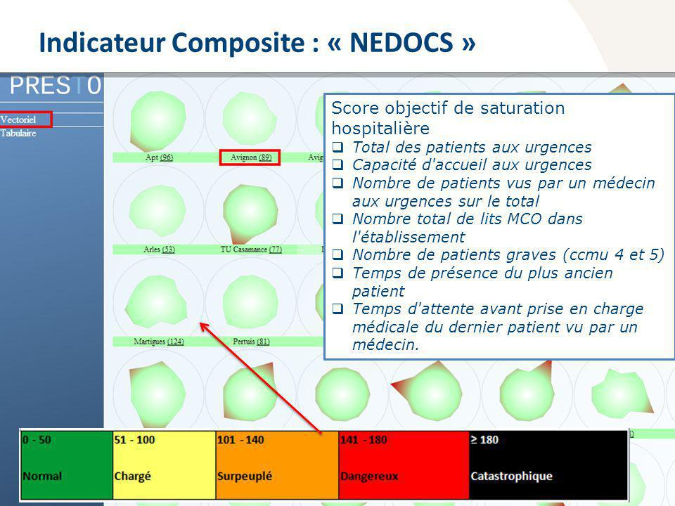 Indicateur Composite : « NEDOCS »