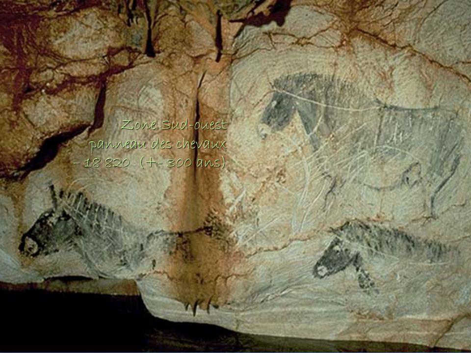 Zone Sud-ouest panneau des chevaux – 18 820 (+- 300 ans)