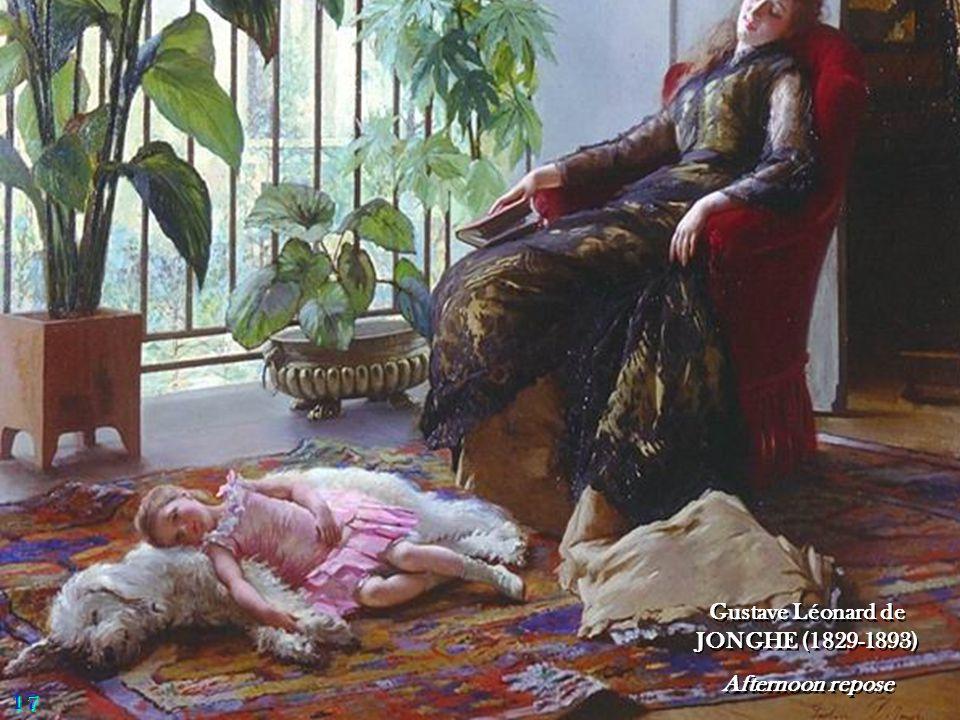 Gustave Léonard de JONGHE (1829-1893)