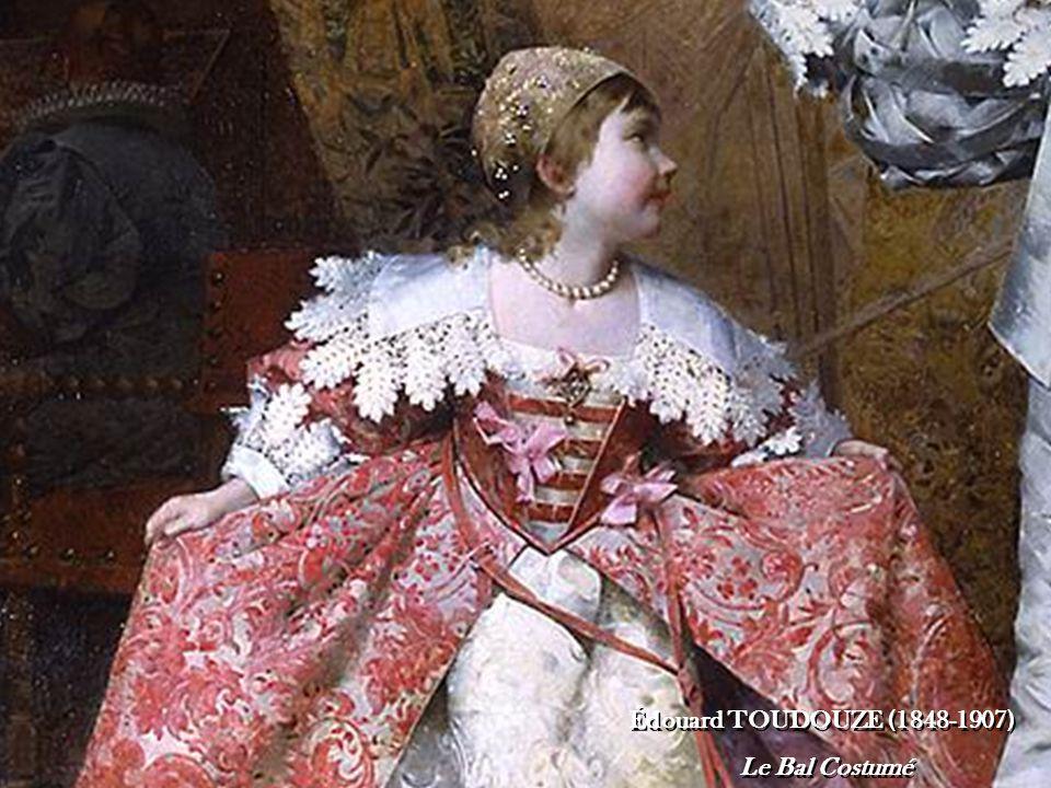 Édouard TOUDOUZE (1848-1907) Le Bal Costumé