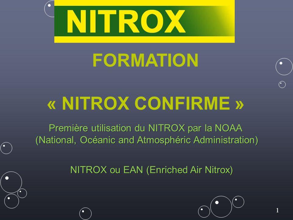 FORMATION « NITROX CONFIRME »