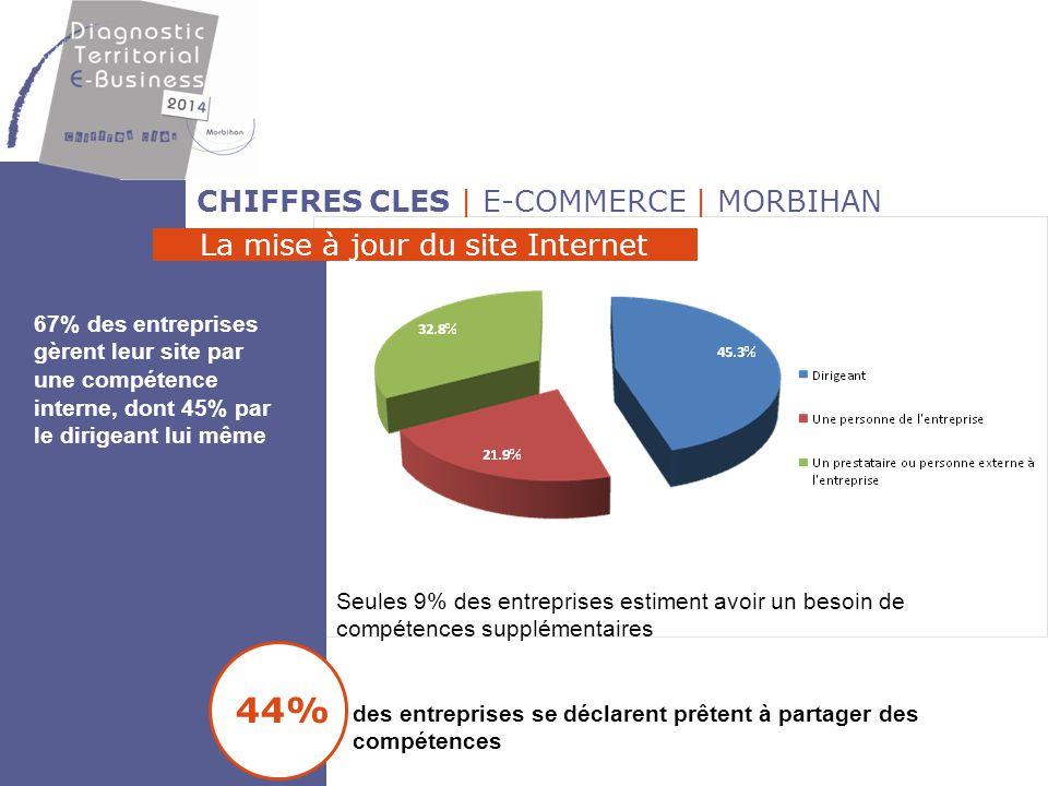 44% CHIFFRES CLES | E-COMMERCE | MORBIHAN