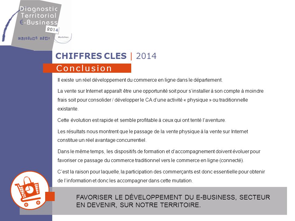 CHIFFRES CLES | 2014 Conclusion