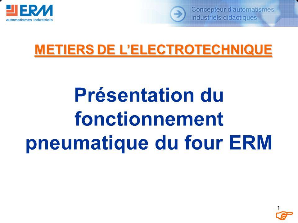 F Présentation du fonctionnement pneumatique du four ERM