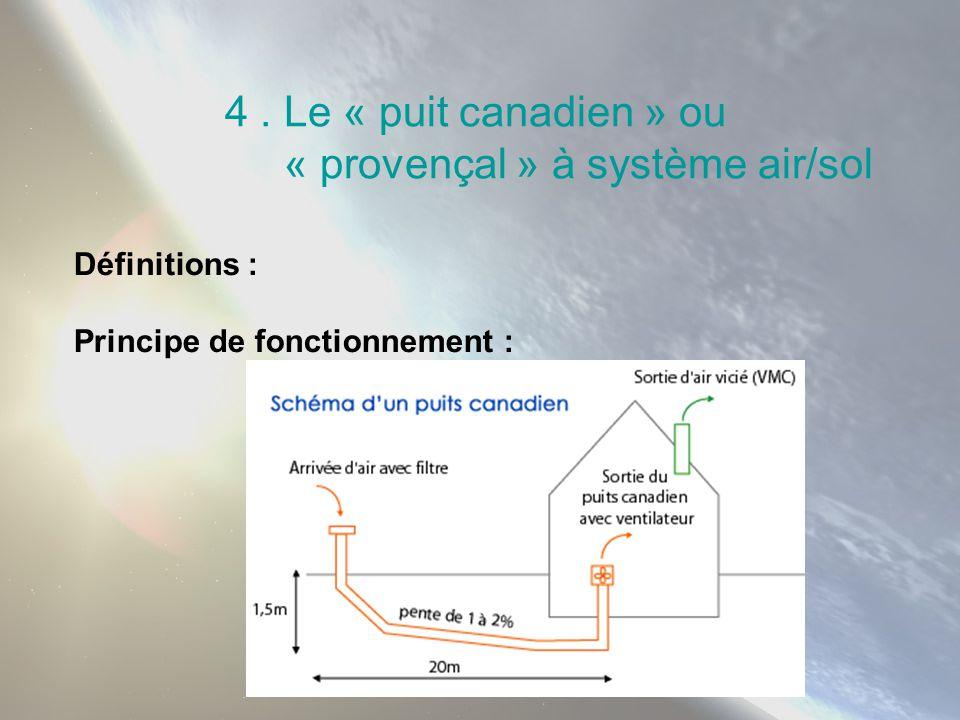 « provençal » à système air/sol