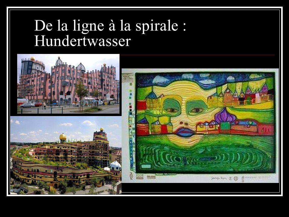 De la ligne à la spirale : Hundertwasser
