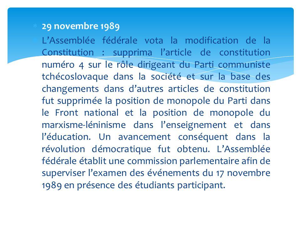 29 novembre 1989