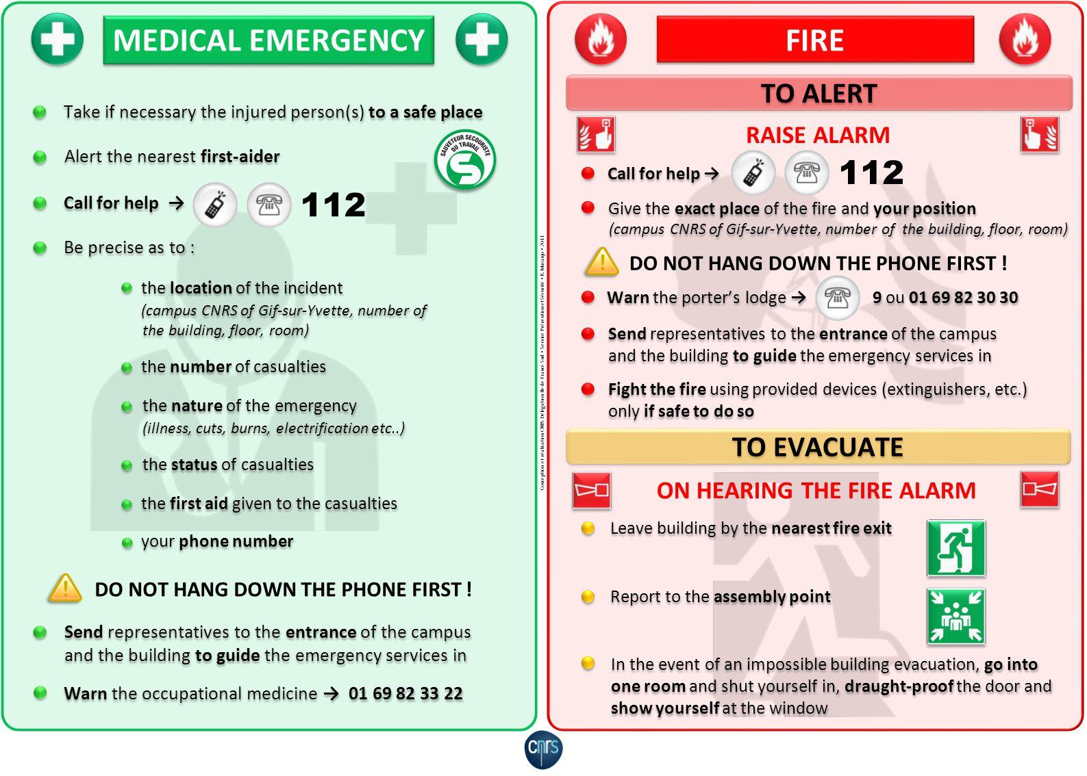 MEDICAL EMERGENCY FIRE