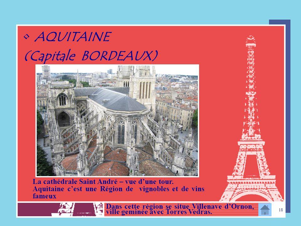 AQUITAINE (Capitale BORDEAUX)