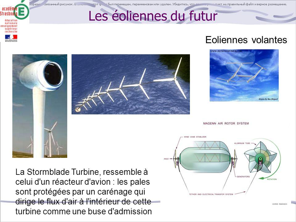Les éoliennes du futur Eoliennes volantes