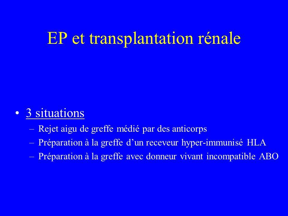 EP et transplantation rénale
