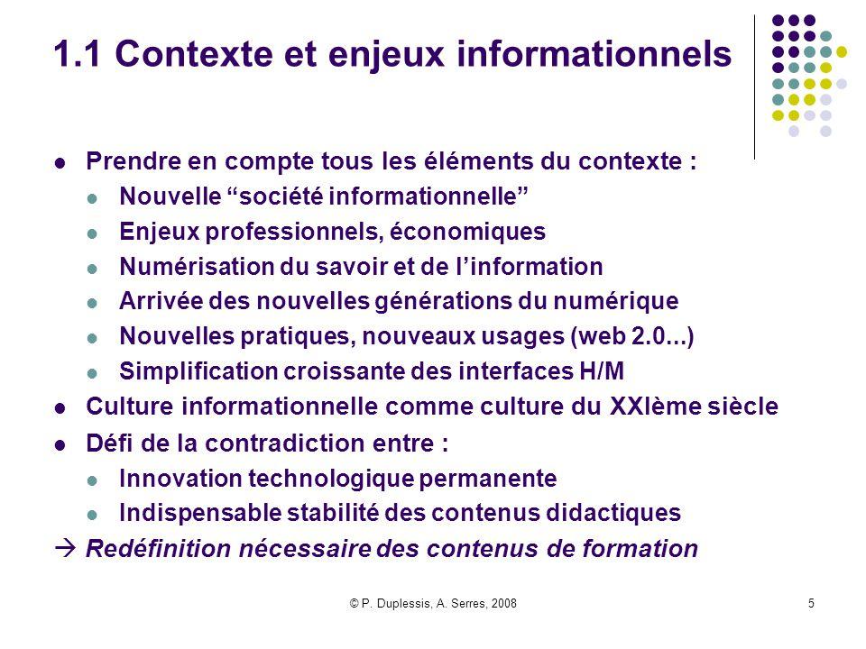 1.1 Contexte et enjeux informationnels
