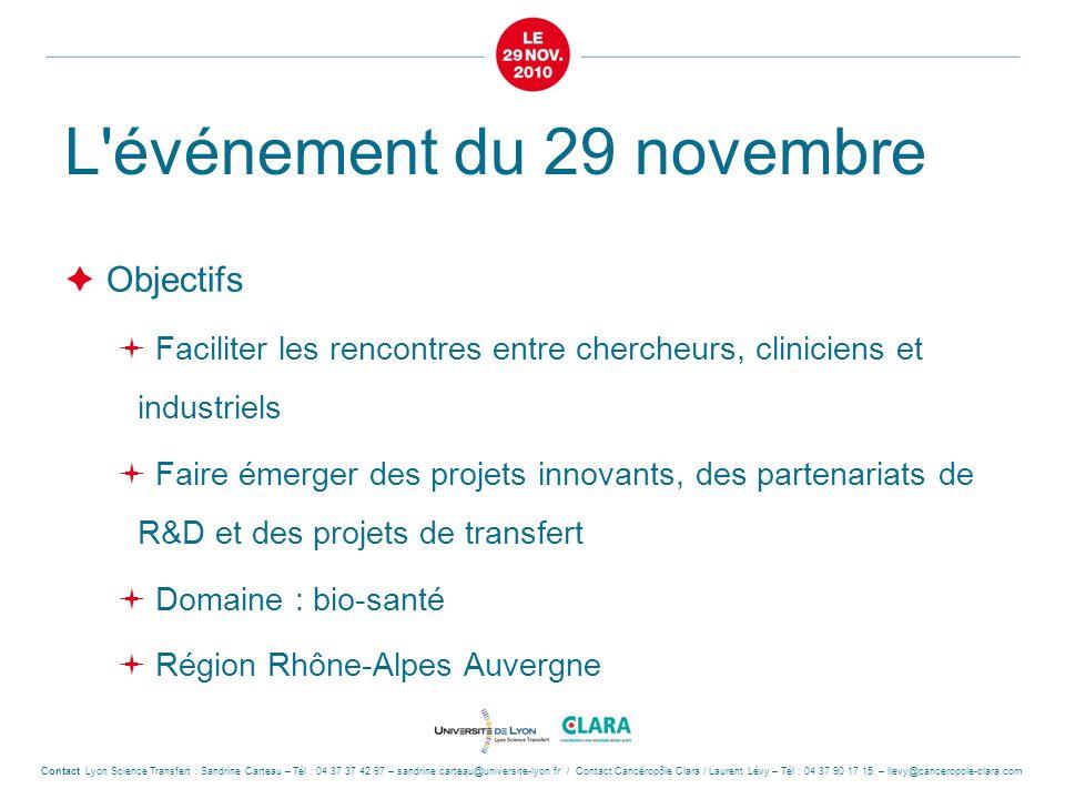 L événement du 29 novembre