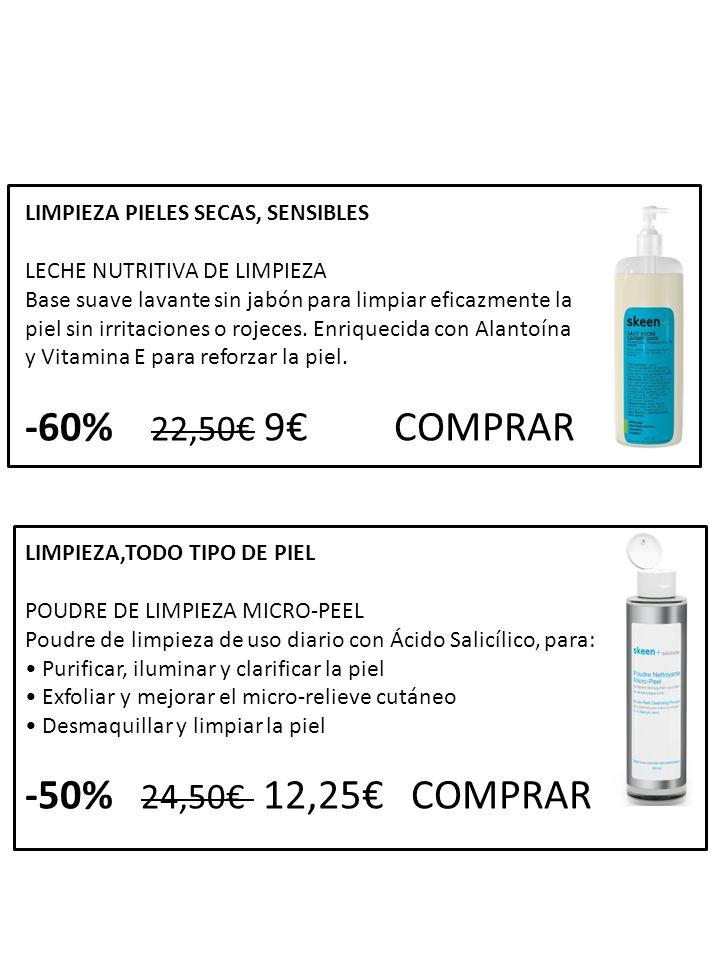 -60% 22,50€ 9€ COMPRAR -50% 24,50€ 12,25€ COMPRAR