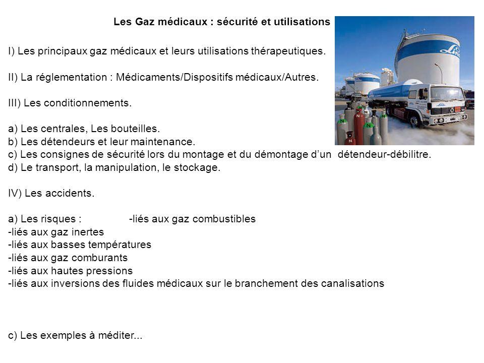 Les Gaz médicaux : sécurité et utilisations