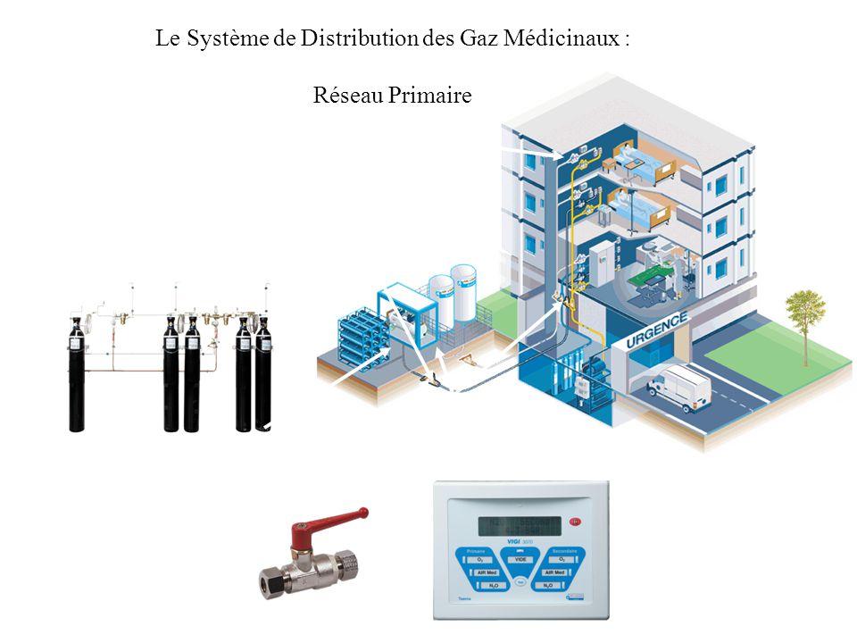 Le Système de Distribution des Gaz Médicinaux : Réseau Primaire