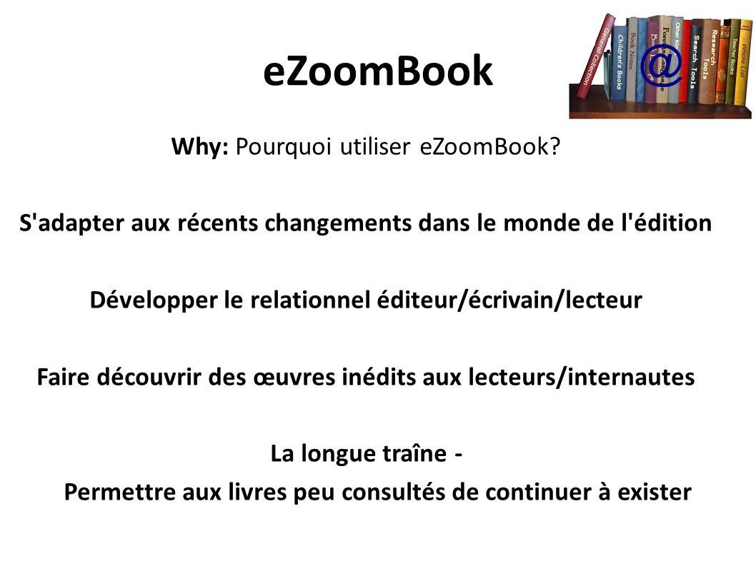 eZoomBook @ Why: Pourquoi utiliser eZoomBook