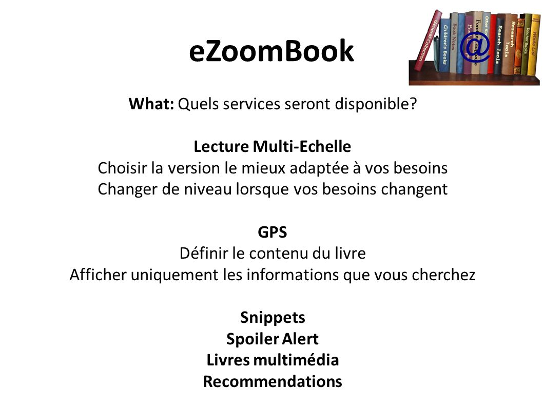 Lecture Multi-Echelle