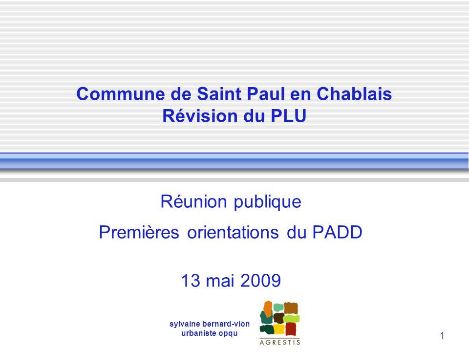 Commune de Saint Paul en Chablais Révision du PLU