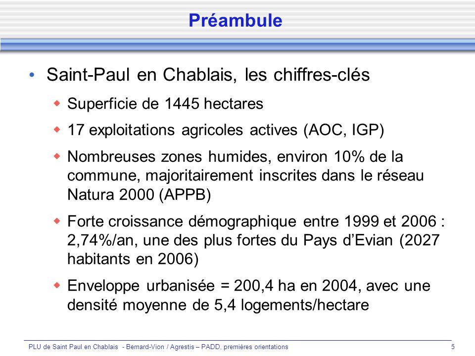 Saint-Paul en Chablais, les chiffres-clés