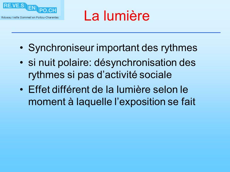 La lumière Synchroniseur important des rythmes