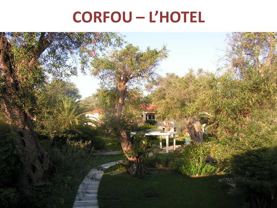 CORFOU – L'HOTEL