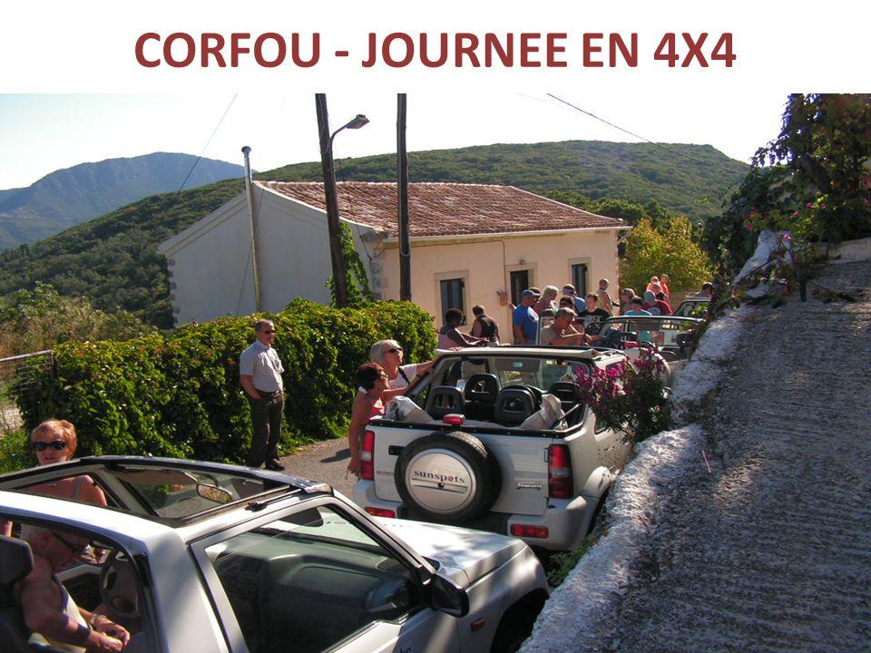 CORFOU - JOURNEE EN 4X4