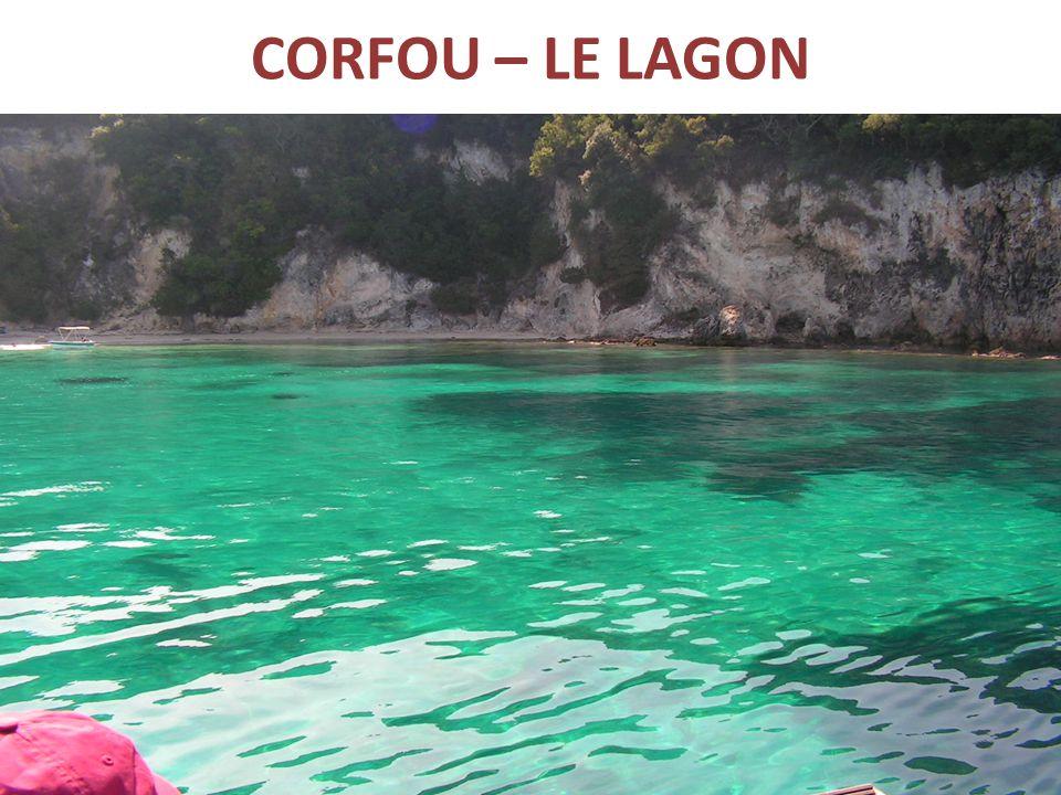 CORFOU – LE LAGON