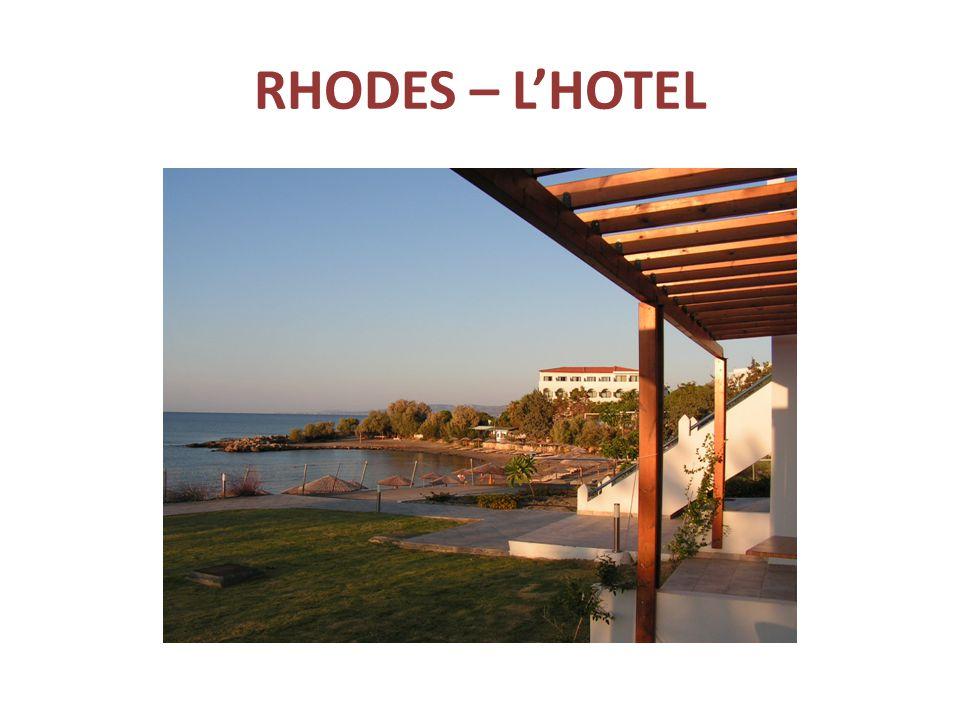 RHODES – L'HOTEL