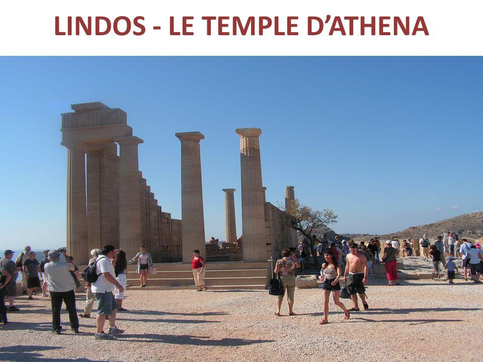 LINDOS - LE TEMPLE D'ATHENA